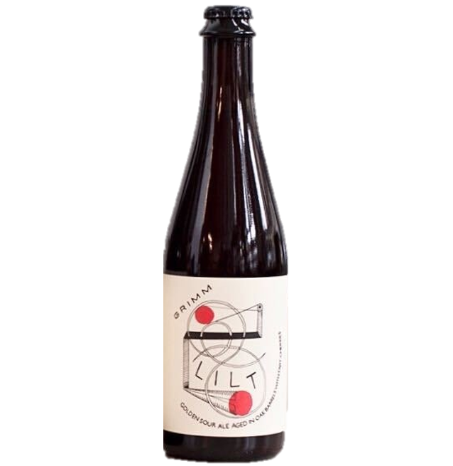 Grimm Artisanal Ales Lilt Barrel Aged Tart Cherry Golden Sour Ale 500ml (6%)