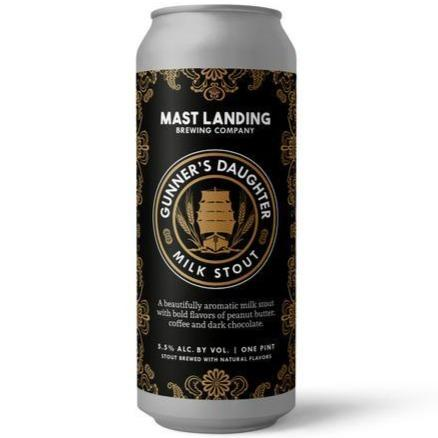 Mast Landing Gunners Daughter Milk Stout 473ml (5.5%)