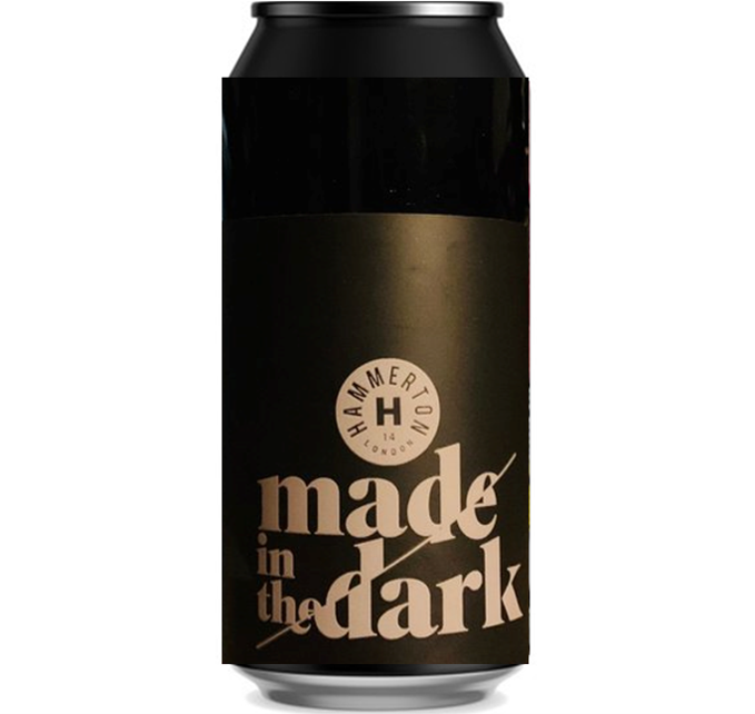 Hammerton Made in the Dark Imperial Chocolate BA Stout 440ml (13.4%)