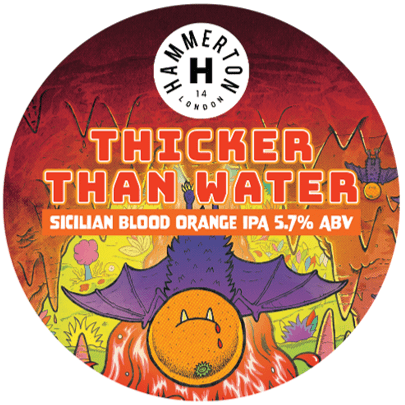 Hammerton Thicker Than Water Sicilian Blood Orange IPA 440ml (5.7%)