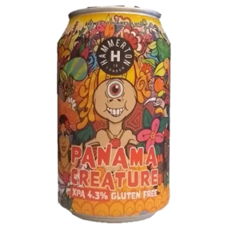 Hammerton Panama Creatures Gluten Free Extra Pale Ale 330ml (4.3%)