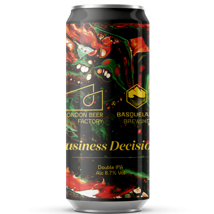 London Beer Factory x Basqueland collab - Business Decision - Double IPA 440ml (8.7%)