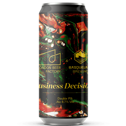 London Beer Factory x Basqueland collab - Business Decision - Double IPA 440ml (8.7%) - indiebeer