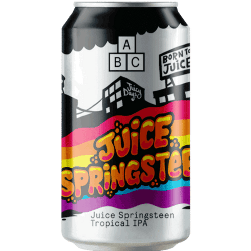 Alphabet Brewing Juice Springsteen Tropical IPA 330ml (4.5%) - indiebeer