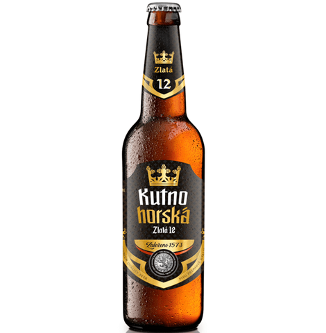 Kutna Hora Gold 12 Czech Pilsner 500ml (4.9%)