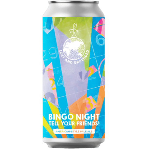 Lost & Grounded Bingo Nights - Tell Your Friends! West Coast Pale Ale 440ml (5.5%) - indiebeer