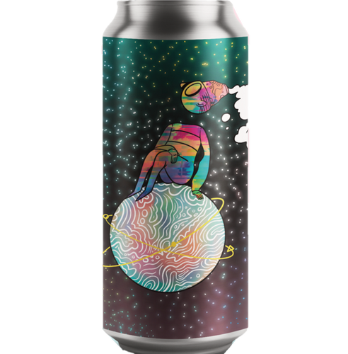 Left Handed Giant Cosmic Starry Dimension Chocolate, Pecan, and Tonka Stout 440ml (7%)