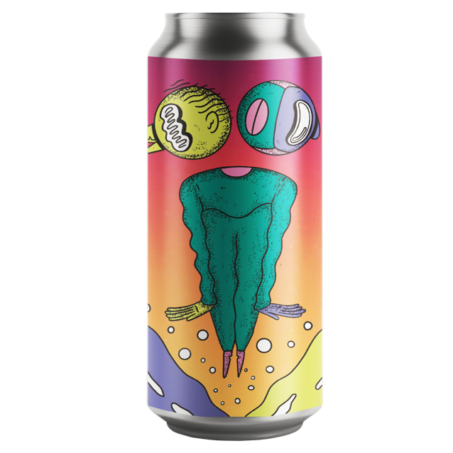 Left Handed Giant Son Of Yesterday Hazy IPA 440ml (7%)