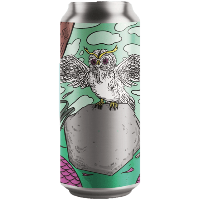 Left Handed Giant x Uiltje Collab Woodland Creatures Pistachio and Honeycomb Milk Stout 440ml (6.9%)