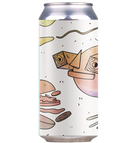 Left Handed Giant x Verdant collab - Even Allen Needs Cheeseburgers DIPA 440ml (8.2%)