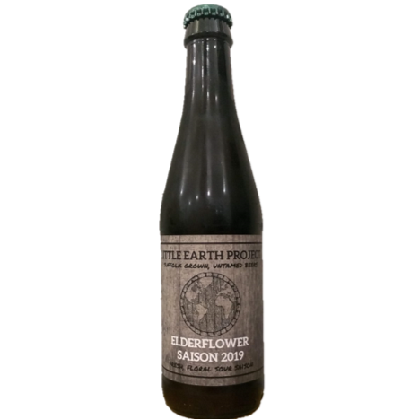 Little Earth Elderflower Saison 330ml (5.7%)