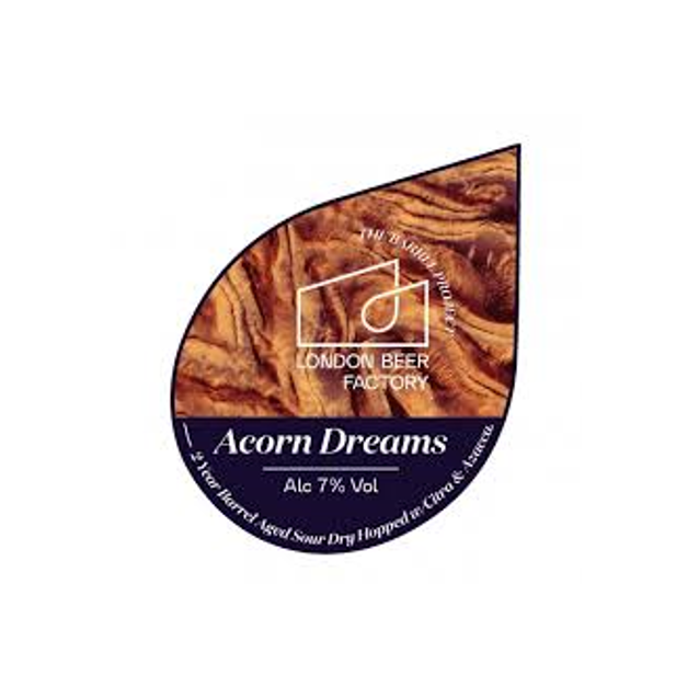 London Beer Factory Barrel Project - Acorn Dreams - Barrel Aged Golden Sour 330ml (7%)