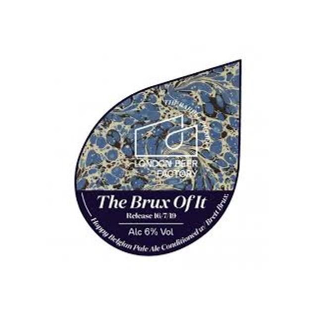 London Beer Factory Barrel Project - The Brux Of It - Belgian Pale Ale Conditioned with Brett Brux 330ml (6%)