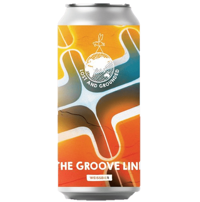 Lost & Grounded The Groove Lines Weissbier 440ml (5.2%)