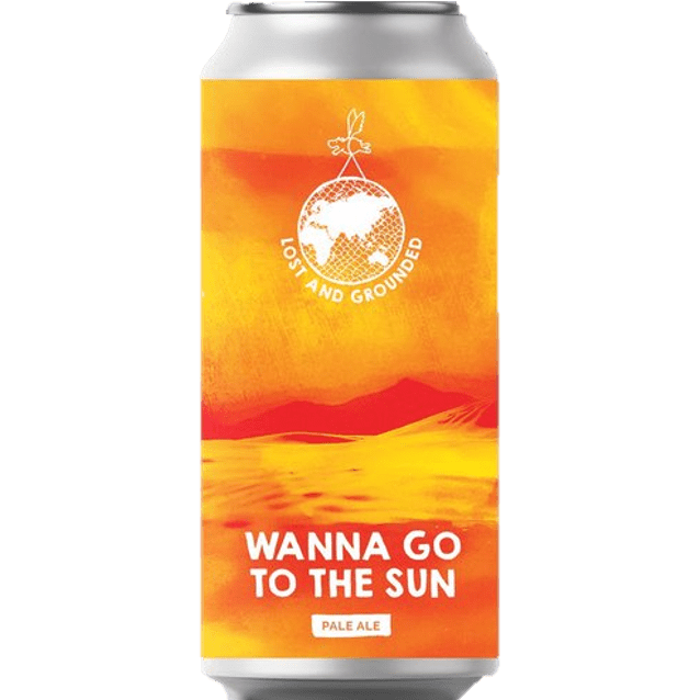 Lost & Grounded Wanna Go To The Sun Citra & Ekuanot Pale Ale 440ml (4.6%)