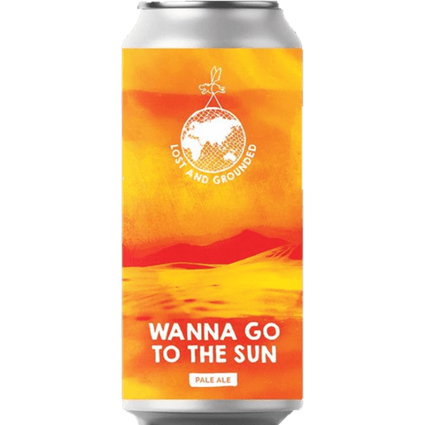 Lost & Grounded Wanna Go To The Sun Citra & Ekuanot Pale Ale 440ml (4.6%) - indiebeer