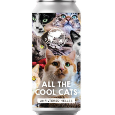 Lost & Grounded All The Cool Cats Helles  Lager 440ml (5.1%)