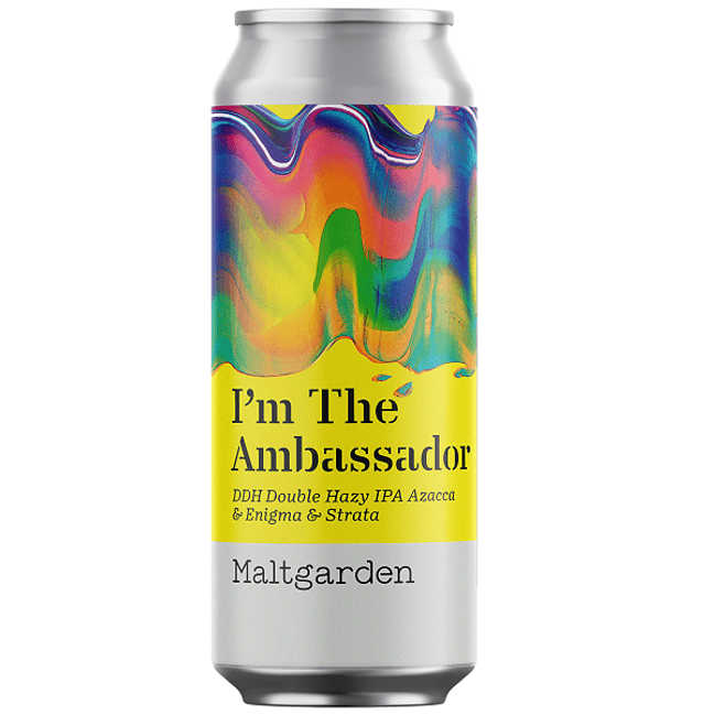 Maltgarden I'm the Ambassador DDH Hazy IPA 500ml (7.2%)