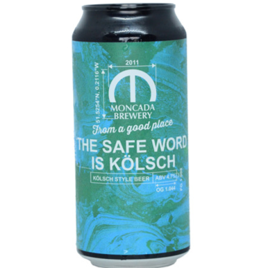 Moncada The Safe Word Is Kolsch 440ml (4.7%)