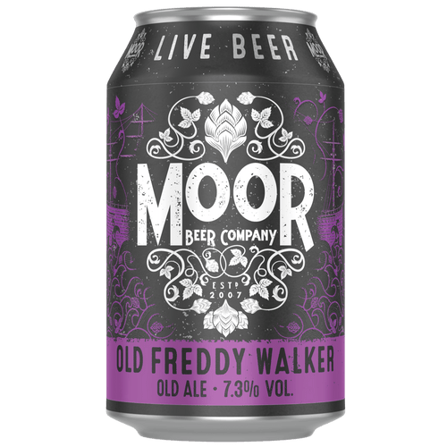 Moor Old Freddie Walker Old Ale 330ml (7.3%) - indiebeer