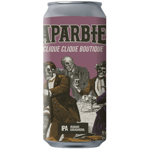 Naparbier Clique Clique Boutique West Coast IPA 440ml (7.3%)