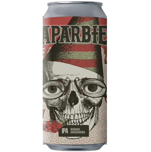 Naparbier x Barrier Brewery Collab 10 More Bloody Years IPA 440ml (7%)