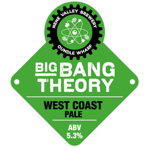 Nene Valley Brewery Big Bang Theory West Coast Pale Ale 330ml (5.3%)