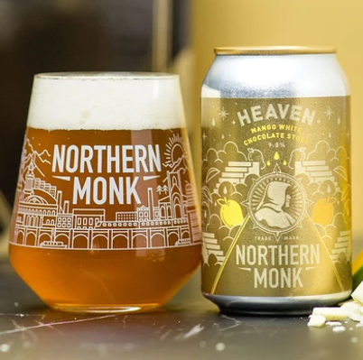 Northern Monk Heaven Mango White Chocolate Imperial Stout 330ml (9.8%)