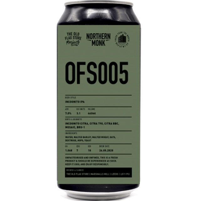 Northern Monk OFS005 IPA 440ml (7%)