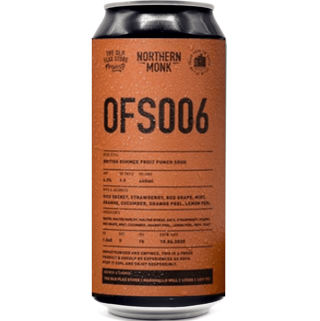 Northern Monk OFS006 British Summer Fruit Punch Sour 440ml (4.3%)