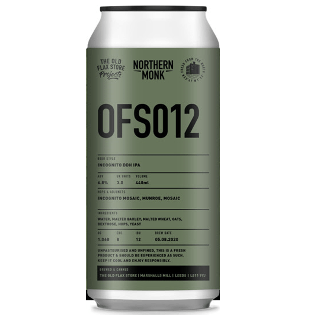 Northern Monk OFS012 - Incognito DDH IPA Mosaic 440ml (6.8%)
