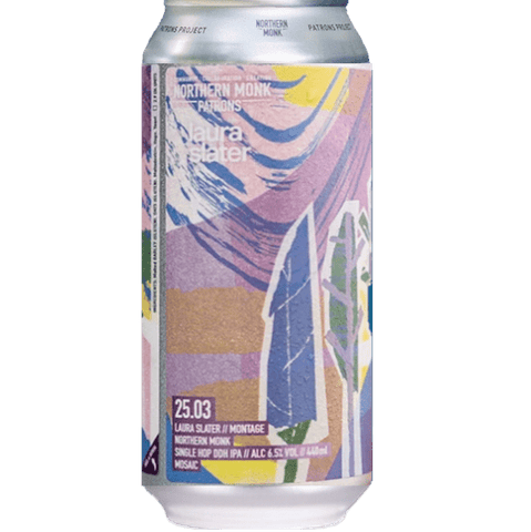 Northern Monk Patrons Project 25.03: Montage - Mosaic Single Hop DDH IPA 440ml (6.5%) - indiebeer