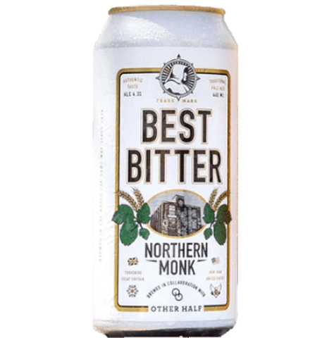 Northern Monk x Other Half Collab Best Bitter 440ml (4.3%) - indiebeer