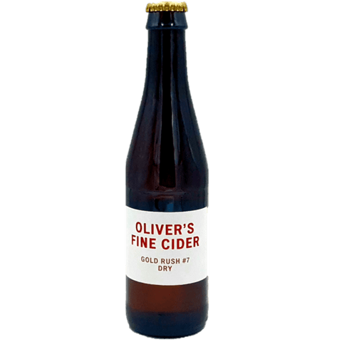 Olivers Gold Rush Cider 330ml (6.5%) - indiebeer