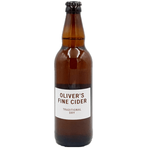 Olivers Traditional Dry Cider 500ml (6%) - indiebeer
