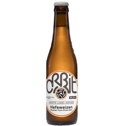 Orbit Hefeweisen 330ml (5.2%) - indiebeer