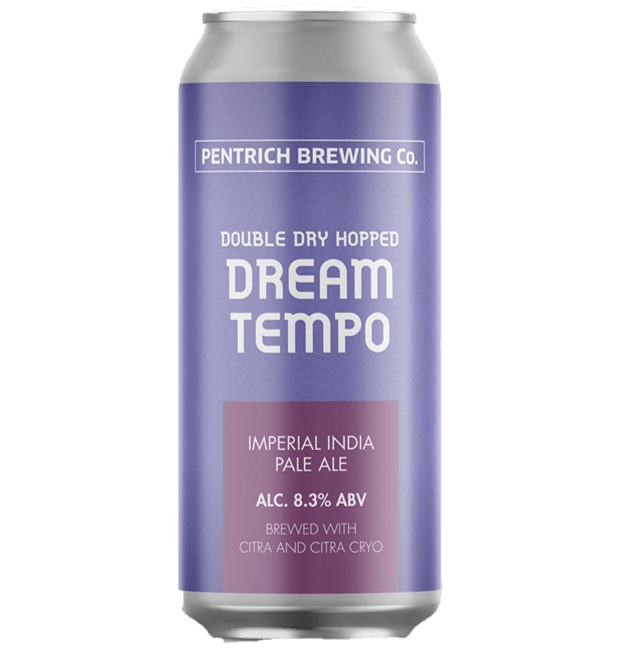 Pentrich Brewing Co Double Dry Hopped Dream Tempo DIPA 440ml (8.3%)