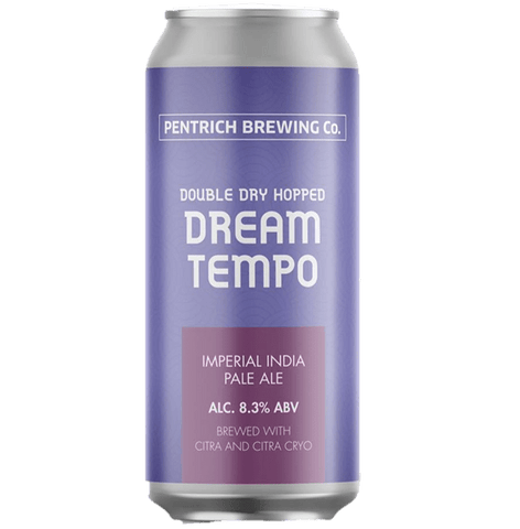 Pentrich Brewing Co Double Dry Hopped Dream Tempo DIPA 440ml (8.3%) - indiebeer