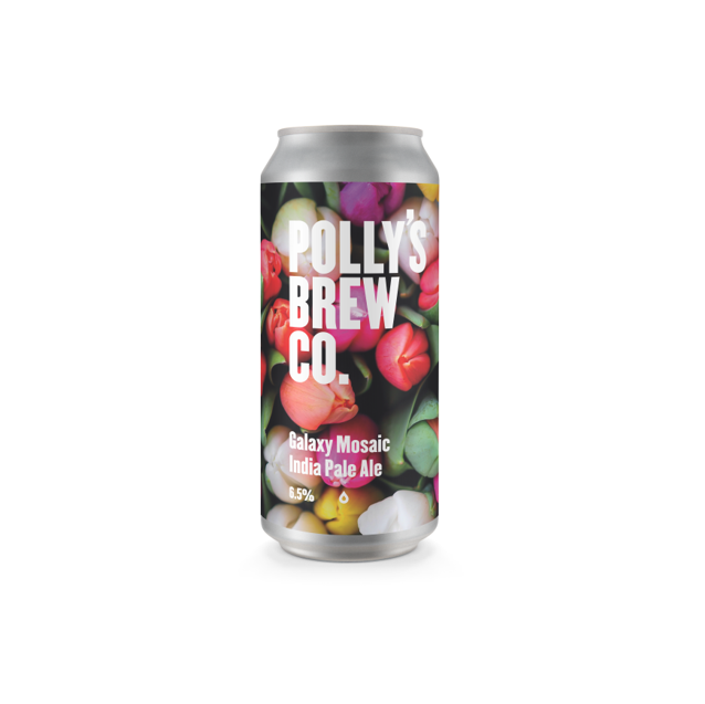 Polly's Brew Co Galaxy Mosaic IPA 440ml (6.5%)