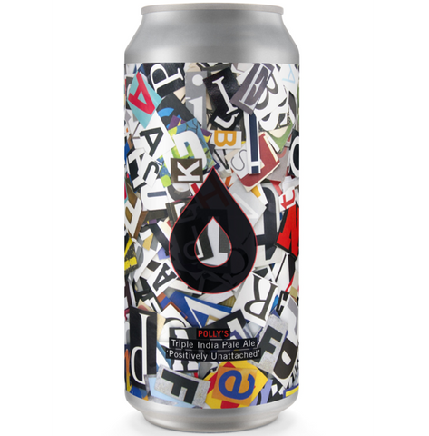 Pollys Brew Co Positively Unattached TIPA 440ml (10%)