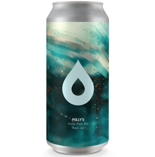 Pollys Brew Co Rain Jar IPA 440ml (6%)