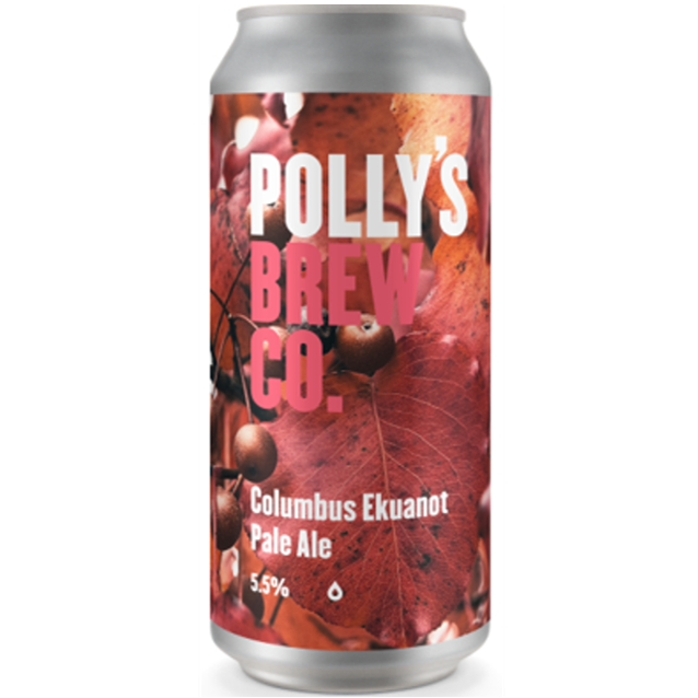 Pollys Brew Co Columbus Ekuanot Pale Ale 440ml (5.5%)