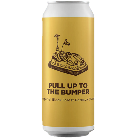 Pomona Island Pull Up The Bumper Imperial Black Forest Gateaux Stout 440ml (11%)