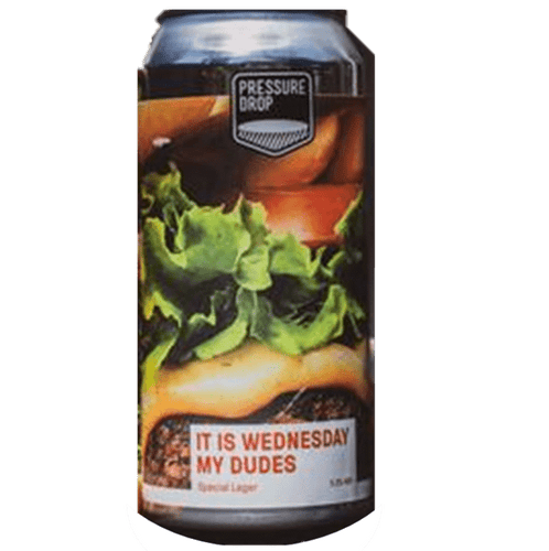 Pressure Drop It's Wednesday My Dudes Special Lager 440ml (5.2%)