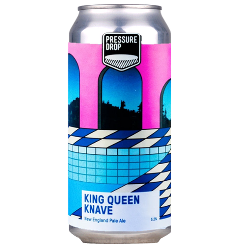Pressure Drop King Queen Knave New England Pale Ale 440ml (5.2%)