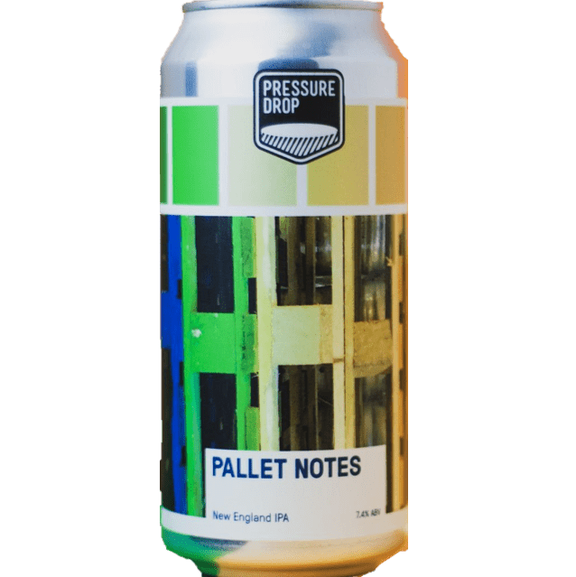 Pressure Drop Pallet Notes New England IPA 440ml (7.4%)