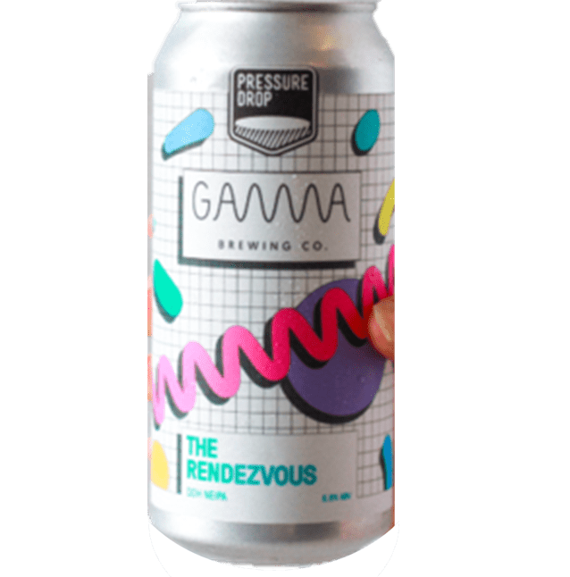 Pressure Drop x Gamma Brewing Collab The Rendezvous NEIPA 440ml (6.8%)