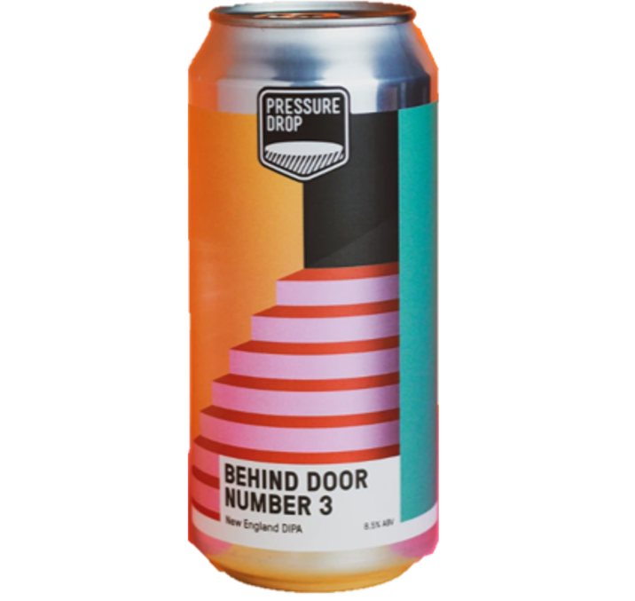 Pressure Drop Behind Door Number 3 New England DIPA 440ml (8.5%)