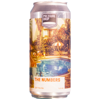 Pressure Drop The Numbers DDH Pale Ale 440ml (5.2%)