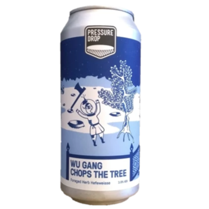Pressure Drop Wu Gang Chops The Tree Hefeweisse 440ml (3.8%)